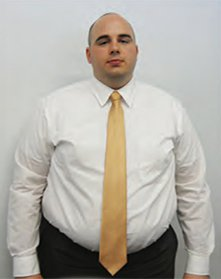 Cory image before starting at Ideal Fitness & Weight Loss Center